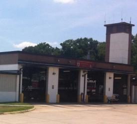 NAS Oceana Air Field Fire Station