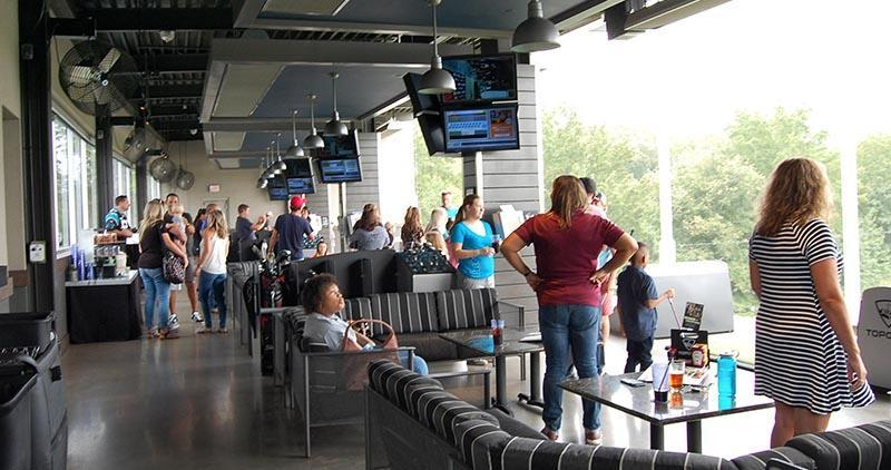 Syncon family outing at Top Golf